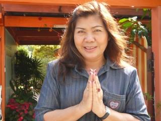 The boss at Narai Hotel