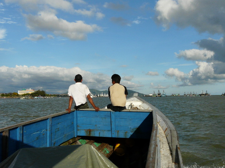 Off We Sailed On 27 Feb 09 Evening Towards The Indonesian Port Of Tarakan